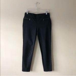 Ann Taylor black crop leggings